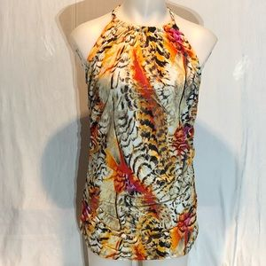 Swim by Cacique Top Plus 20 Print Long